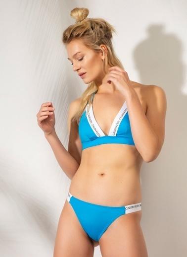 Calvin Klein Bikini Alt Mavi